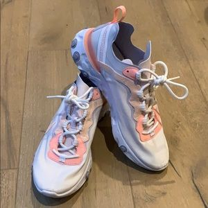 Nike React Element 55 Pale Pink Washed Coral SNKR